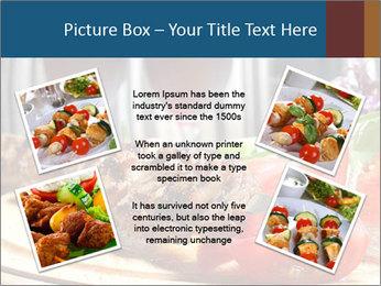 Grilled Kebab PowerPoint Templates - Slide 24