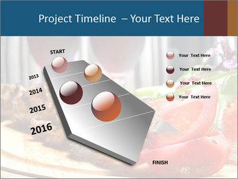 Grilled Kebab PowerPoint Templates - Slide 26