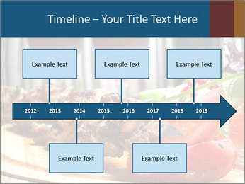 Grilled Kebab PowerPoint Templates - Slide 28