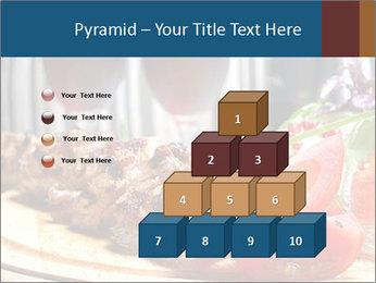Grilled Kebab PowerPoint Templates - Slide 31