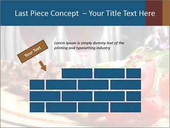 Grilled Kebab PowerPoint Templates - Slide 46