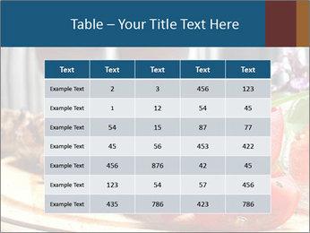 Grilled Kebab PowerPoint Templates - Slide 55
