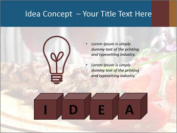 Grilled Kebab PowerPoint Templates - Slide 80
