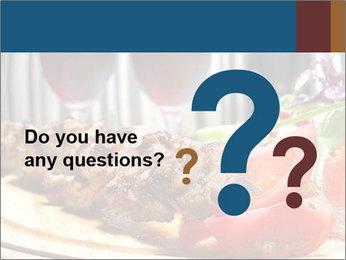 Grilled Kebab PowerPoint Templates - Slide 96