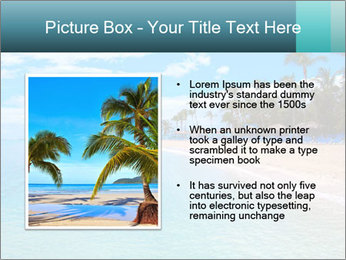 Island Summer Vacation PowerPoint Templates - Slide 13