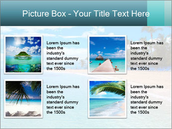 Island Summer Vacation PowerPoint Templates - Slide 14