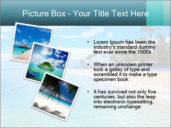 Island Summer Vacation PowerPoint Templates - Slide 17