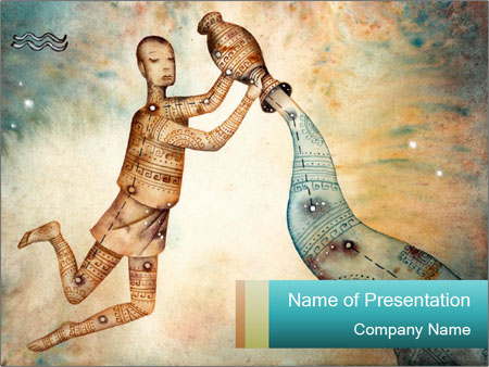 Zodiac Art PowerPoint Templates