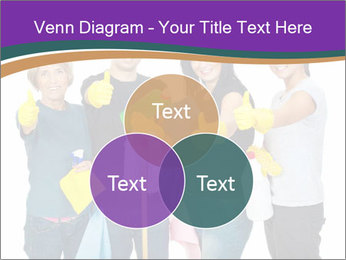 Team Of Female Cleaners PowerPoint Templates - Slide 33