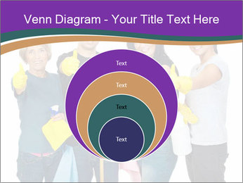 Team Of Female Cleaners PowerPoint Templates - Slide 34