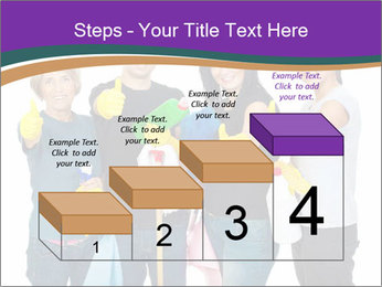 Team Of Female Cleaners PowerPoint Templates - Slide 64