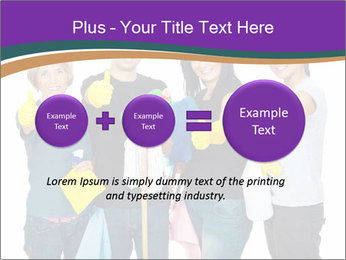 Team Of Female Cleaners PowerPoint Templates - Slide 75