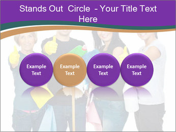 Team Of Female Cleaners PowerPoint Templates - Slide 76