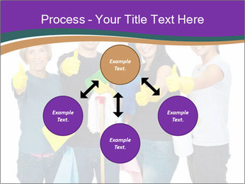 Team Of Female Cleaners PowerPoint Templates - Slide 91
