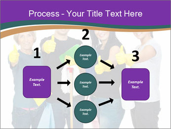 Team Of Female Cleaners PowerPoint Templates - Slide 92