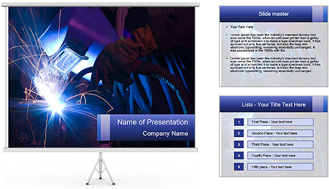 Factory Work PowerPoint Template