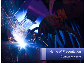 Factory Work PowerPoint Templates - Slide 1