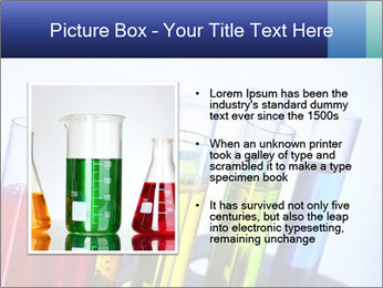Colorful Lab Tubes PowerPoint Template - Slide 13