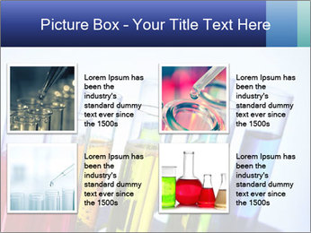 Colorful Lab Tubes PowerPoint Template - Slide 14