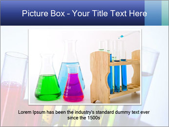 Colorful Lab Tubes PowerPoint Template - Slide 16