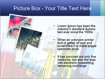 Colorful Lab Tubes PowerPoint Template - Slide 17