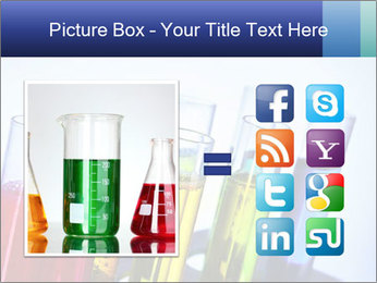 Colorful Lab Tubes PowerPoint Template - Slide 21