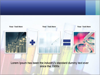 Colorful Lab Tubes PowerPoint Template - Slide 22