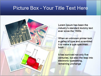 Colorful Lab Tubes PowerPoint Template - Slide 23