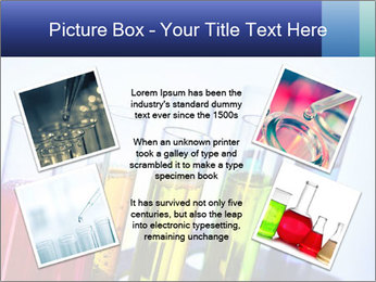 Colorful Lab Tubes PowerPoint Template - Slide 24