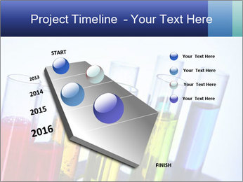 Colorful Lab Tubes PowerPoint Template - Slide 26