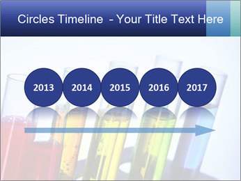 Colorful Lab Tubes PowerPoint Template - Slide 29