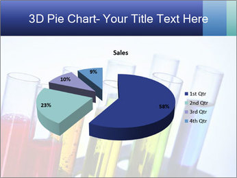 Colorful Lab Tubes PowerPoint Template - Slide 35