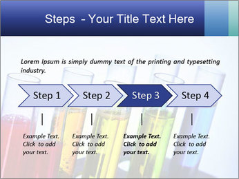 Colorful Lab Tubes PowerPoint Template - Slide 4