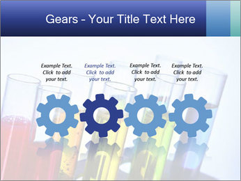 Colorful Lab Tubes PowerPoint Template - Slide 48