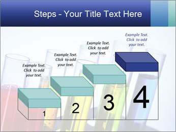 Colorful Lab Tubes PowerPoint Template - Slide 64