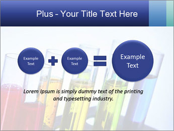 Colorful Lab Tubes PowerPoint Template - Slide 75