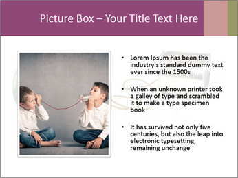 Old-Styled Phone PowerPoint Templates - Slide 13