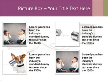 Old-Styled Phone PowerPoint Templates - Slide 14