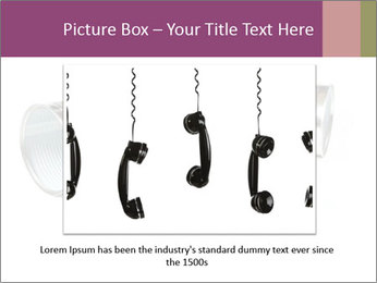Old-Styled Phone PowerPoint Templates - Slide 16
