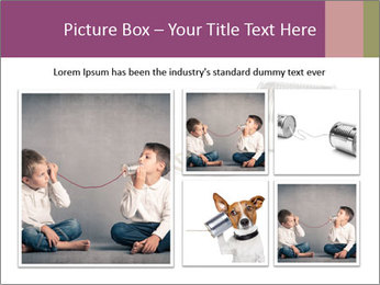 Old-Styled Phone PowerPoint Templates - Slide 19