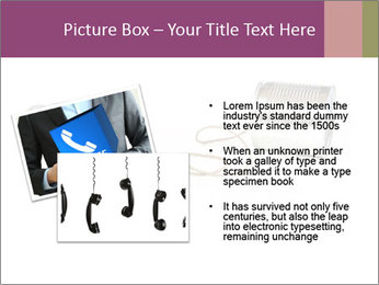 Old-Styled Phone PowerPoint Templates - Slide 20