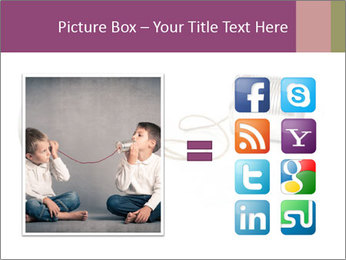 Old-Styled Phone PowerPoint Templates - Slide 21