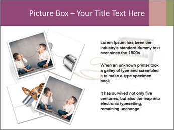 Old-Styled Phone PowerPoint Templates - Slide 23