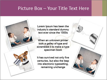 Old-Styled Phone PowerPoint Templates - Slide 24