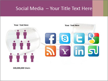 Old-Styled Phone PowerPoint Templates - Slide 5