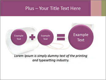 Old-Styled Phone PowerPoint Templates - Slide 75