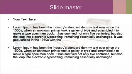Old-Styled Phone PowerPoint Template - Slide 2