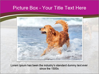 Three Running Dogs PowerPoint Template - Slide 15