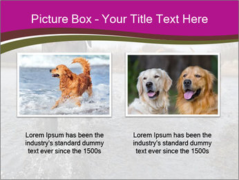 Three Running Dogs PowerPoint Template - Slide 18