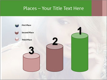 Blond Photo Model PowerPoint Template - Slide 65